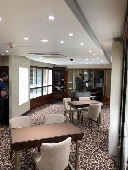 Thurlow Jewellers Electrical Work 5