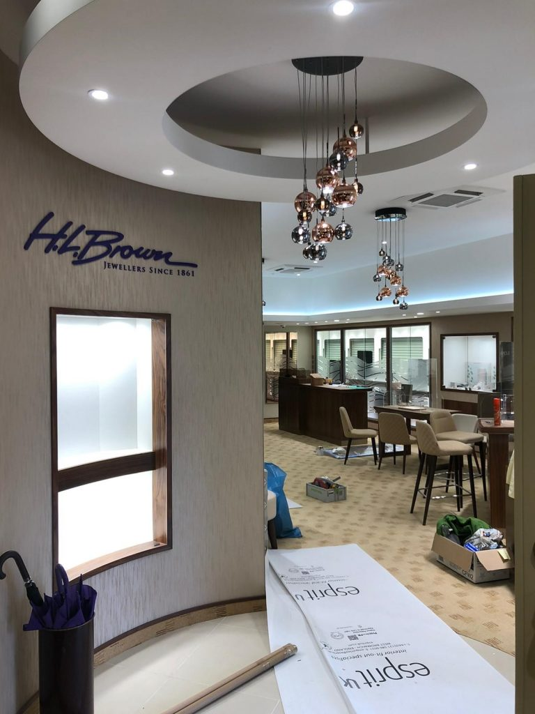 hl brown commercial electrical work 7